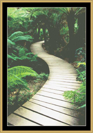 A Jungle Path - Cross Stitch Pattern | Crafting | Cross-Stitch | Other