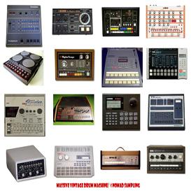 170 vintage drum machines oldschool beatboxes reason kontakt soundfont logic exs24 sample | Music | Soundbanks