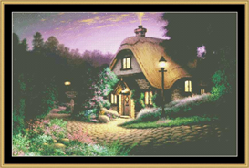 Hill Crest Cottage - Cross Stitch Pattern | Crafting | Cross-Stitch | Other