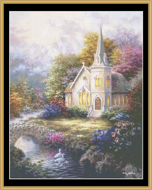 Serenity - Cross Stitch Pattern | Crafting | Cross-Stitch | Other