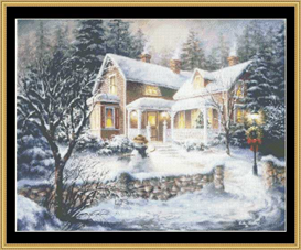 Winters Welcome - Cross Stitch Pattern | Crafting | Cross-Stitch | Other