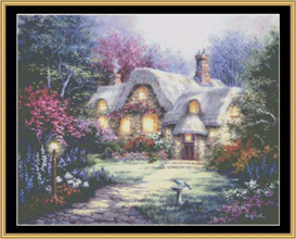 Garden Cottage - Cross Stitch Pattern | Crafting | Cross-Stitch | Other