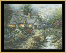 Country Cottage - Cross Stitch Pattern | Crafting | Cross-Stitch | Other