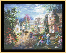 Moonlight Splendor - Cross Stitch Pattern | Crafting | Cross-Stitch | Other