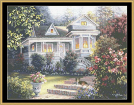 A Canine Sanctuary - Cross Stitch Pattern | Crafting | Cross-Stitch | Other