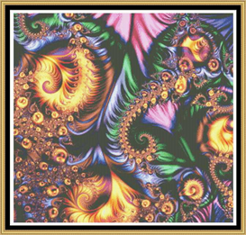 Fractal Series - Limited Edition Cross Stitch Pattern
