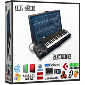 Arp2600 Arp 2600 reason kontakt logic exs24 soundfont sf2 fl studio vintage synthesizer saqmple | Music | Soundbanks