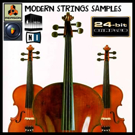 Modern Strings Orchestra reason kontakt soundfont fl studio apple logic exs24 | Music | Soundbanks