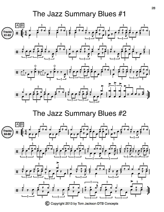 Third Additional product image for - The Complete Drummers Guide (Full Version) Interactive PDF - Plus 12 Free Bonus Backing Tracks & 34 additional percussion grooves