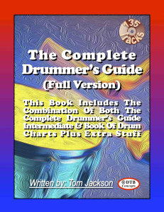 the complete drummers guide (full version) interactive pdf - with backing tracks (zip) - plus 12 free bonus backing tracks booklet