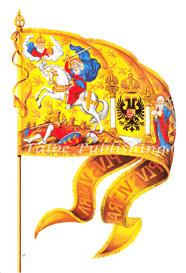 Digital image Holy Roman Emperor Charles V golden flag - High Resolution jpeg | Photos and Images | Backgrounds