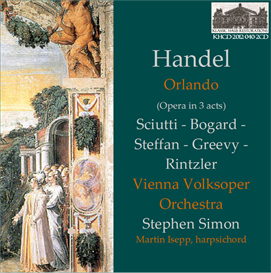 handel: orlando (opera in 3 acts) first recording 1970