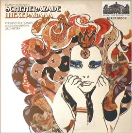 Rimsky-Korsakov: Scheherezade - USSR Symphony Orchestra/Yevgeny Svetlanov | Music | Classical