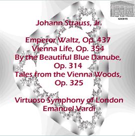 Waltzes of Johann Strauss, Jr. - Virtuoso Symphony of London - Emanuel Vardi | Music | Classical