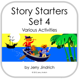 Story Starters Set 4 | Documents and Forms | Other Forms