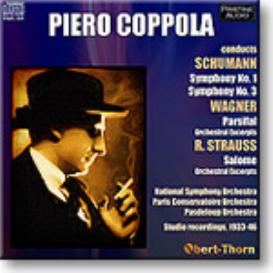 COPPOLA conducts SCHUMANN, WAGNER, R. STRAUSS, mono MP3 | Music | Classical