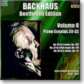 BACKHAUS Beethoven Edition Volume 8 - Sonatas 30-32, Ambient Stereo MP3 | Music | Classical