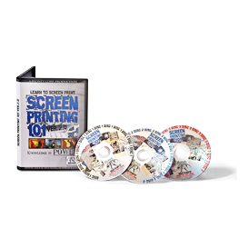 Screen Printing 101 Version 2.0 - Instructional DVD DISC 1 | Movies and Videos | Educational
