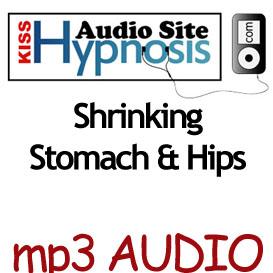 shrinking stomach & hips