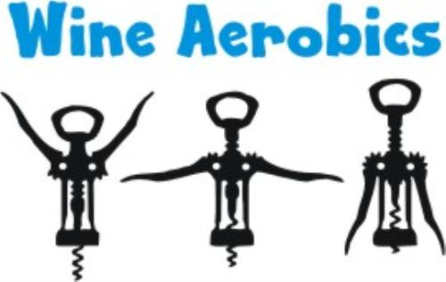 First Additional product image for - Wine Aerobics machine embroidery file