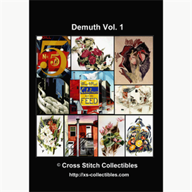 Charles Demuth Vol 1Cross Stitch Collections - 10 cross stitch pattern by Cross Stitch Collectibles | Crafting | Cross-Stitch | Wall Hangings