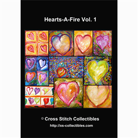 Hearts Vol 1 Cross Stitch Collections - 10 cross stitch pattern by Cross Stitch Collectibles | Crafting | Cross-Stitch | Other