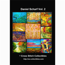 Dan Scharf Vol 2 Cross Stitch Collection - 10 cross stitch pattern by Cross Stitch Collectibles | Crafting | Cross-Stitch | Wall Hangings