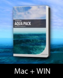 Aqua Pack For FreeForm Pro | Software | Design Templates