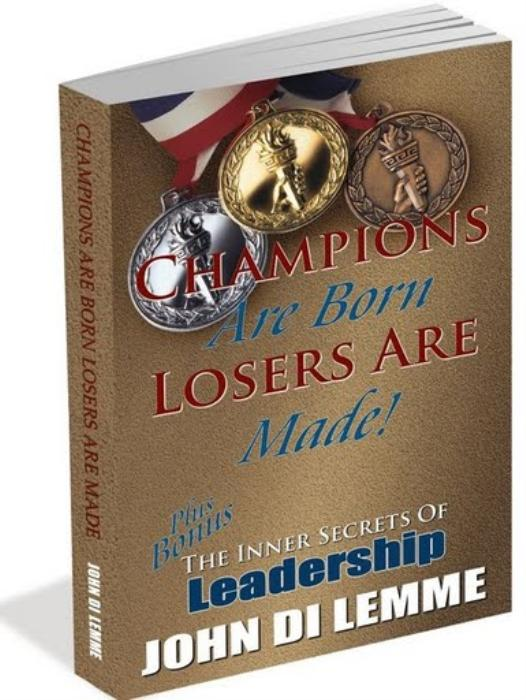 Second Additional product image for - Champions Are Born Losers Are Made Audio Book