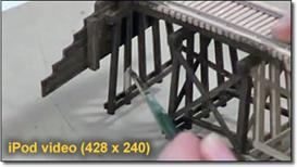 TENMILE CREEK SERIES-1: Bridge construction hints/tips-iPod | Movies and Videos | Special Interest