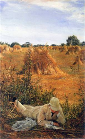 Image Photo 94 degrees in the shade Alma-Tadema | Photos and Images | Vintage