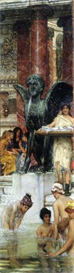 Image Photo A bathroom (An ancient tradition) Alma-Tadema   Photos and Images   Vintage