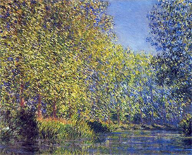 Image Photo A Bend in the Epte Giverny Monet | Photos and Images | Vintage