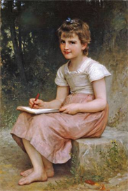 Image Photo A Calling 1896 Bouguereau | Photos and Images | Vintage