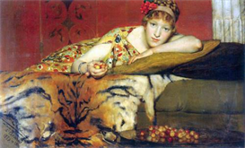 Image Photo A craving for cherries Alma-Tadema | Photos and Images | Vintage