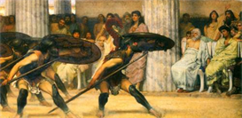 Image Photo A dance for Phyrrus Alma-Tadema | Photos and Images | Vintage