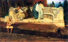 Image Photo A Exedra Alma-Tadema | Photos and Images | Vintage