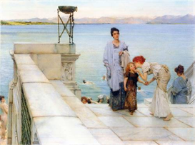 image photo a kiss alma-tadema