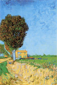 Image Photo A Lane near Arles Van Gogh | Photos and Images | Vintage