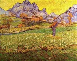 Image Photo A Meadow in the Mountains Le Mas de Saint-Paul Van Gogh | Photos and Images | Vintage