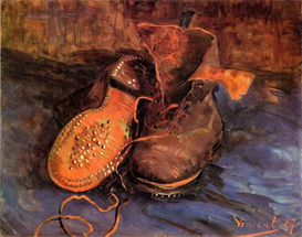 Image Photo A Pair of Shoes 4 for Van Gogh | Photos and Images | Vintage