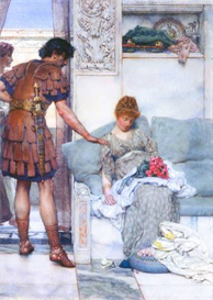 Image Photo A quiet greeting Alma-Tadema | Photos and Images | Vintage