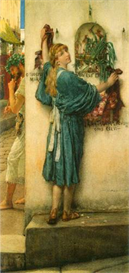 Image Photo A road altar Alma-Tadema | Photos and Images | Vintage