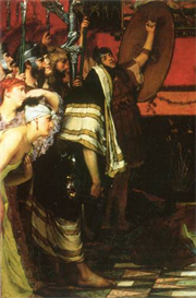 Image Photo A Roman conqueror, detail [1] Alma-Tadema | Photos and Images | Vintage