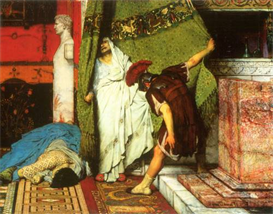 Image Photo A Roman conqueror, detail [2] Alma-Tadema | Photos and Images | Vintage