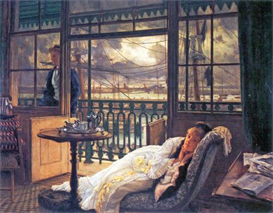 Image Photo A storm moves over Tissot | Photos and Images | Vintage