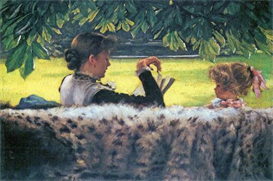 Image Photo A story read Tissot | Photos and Images | Vintage
