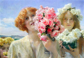Image Photo A summer offering Alma-Tadema | Photos and Images | Vintage