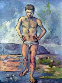 Image Photo A Swimmer Cezanne | Photos and Images | Vintage