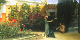 Image Photo A warm welcome Alma-Tadema | Photos and Images | Vintage